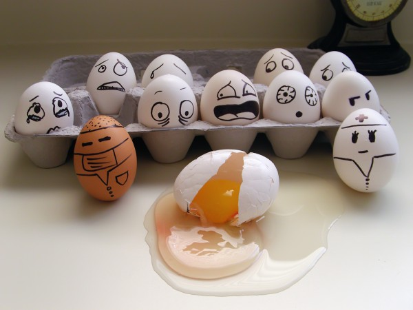 huevos-asustados